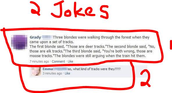 Funny internet pictures. Blonde10