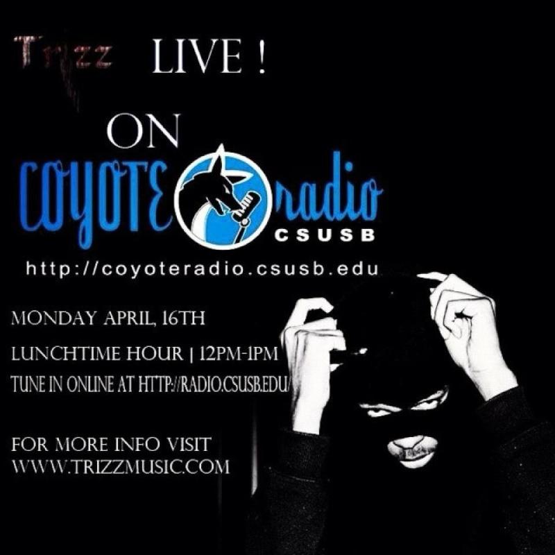 TRIZZ LIVE INTERVIEW ON CSUSB RADIO!!! 15446312