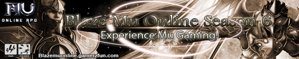 Blaze MuOnline Forum