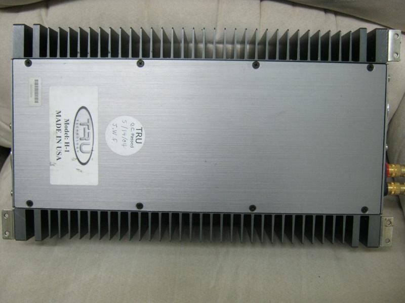 Tru Technology H-1 power amp (Used) Img_2823