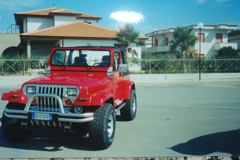 Devo raccontarvi una lunga storia di amore e di ex....e di jeeps B12