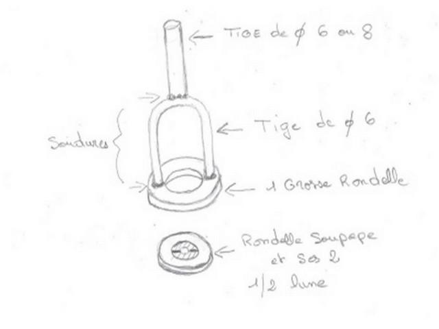 Démonte soupapes pour le moteur Indénor par Philhamel Demont12