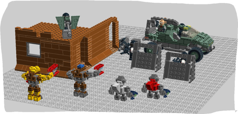 Lego HALO - Page 10 Combat13