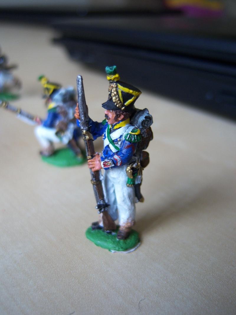 Projet diorama des combats à la ferme Hougoumont de Waterloo 100_6418