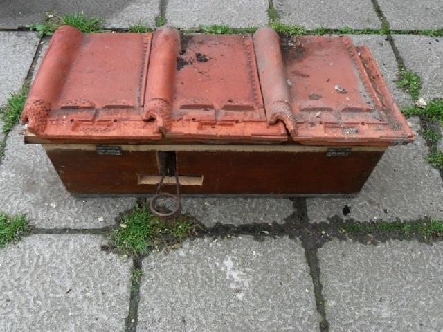 Fabrication d'une boite avec piège x destinée a la régulation d'une fouine Boite_22