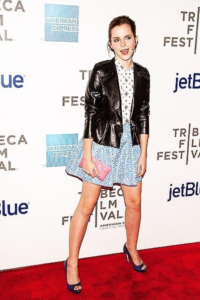 Emma Watson au festival Tribeca de New York. Coupde10