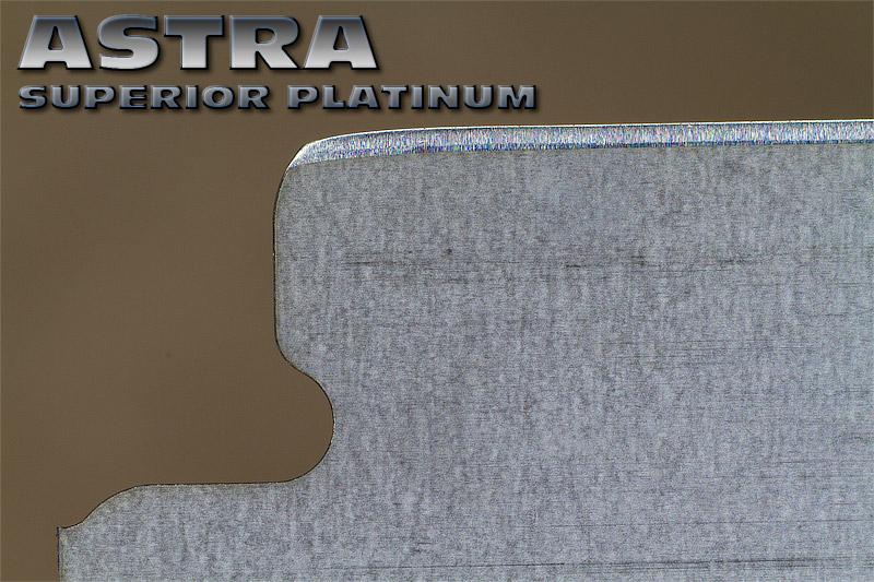 """Comparaison du """"FIL"""" des lames en photos Astra-10"""
