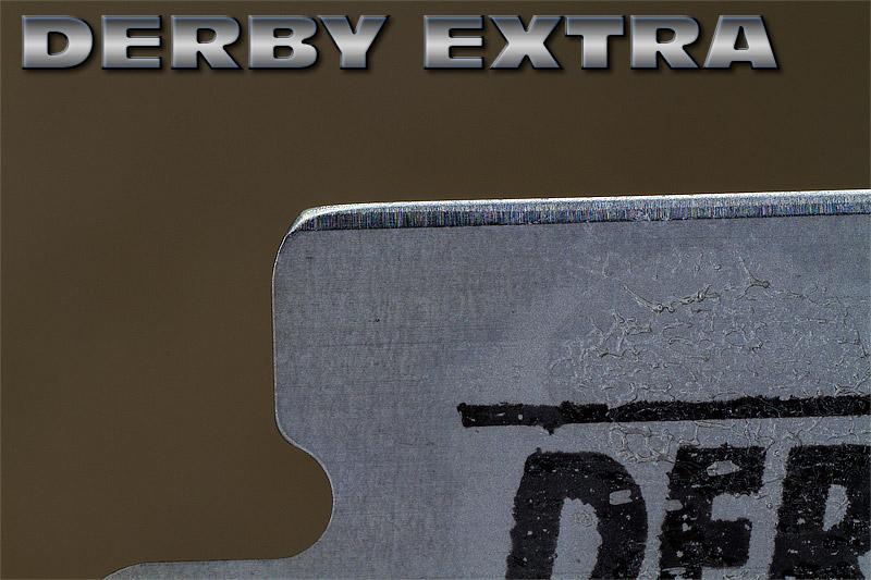 """Comparaison du """"FIL"""" des lames en photos Derby-10"""