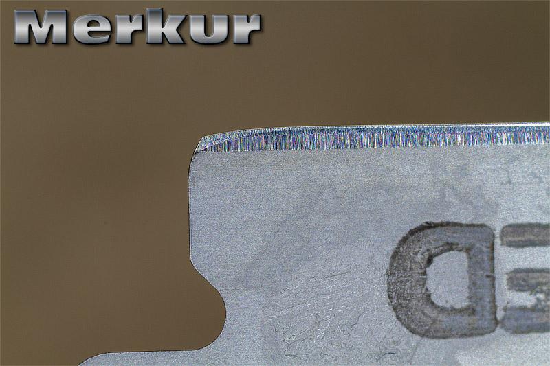 """Comparaison du """"FIL"""" des lames en photos Merkur11"""