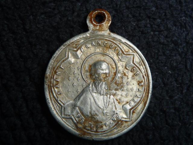 Médaille St-François-de-Sales & et Ste-Françoise-de-Chantal P1090813