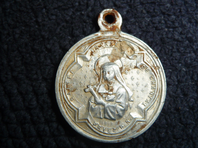 Médaille St-François-de-Sales & et Ste-Françoise-de-Chantal P1090814