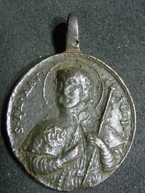 Médaille jésuite - St-François-Xavier & St-Ignace-de-Loyola - XVIIIème P1110610