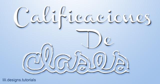 Calificaciones de Clases Califi11