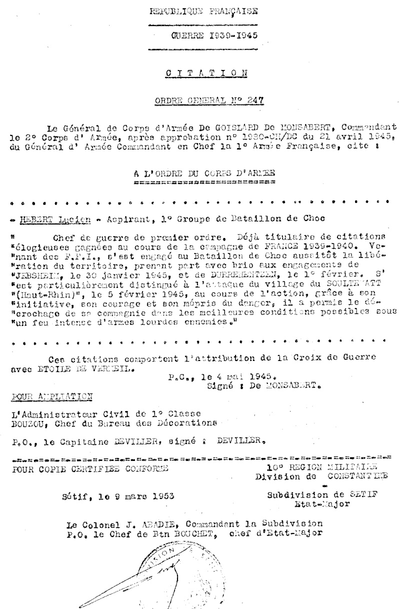 Chasseur LIOR Ser310