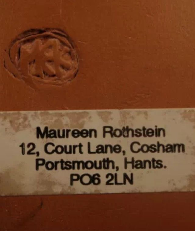 MEK or MER mark? - Maureen E Kopenhagen-Rothstein? 20095a10