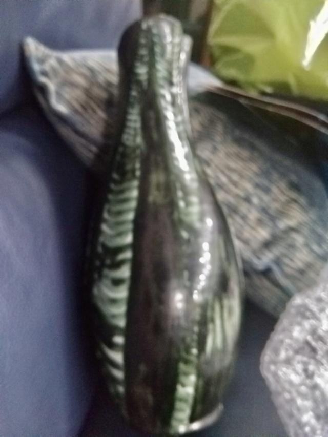 Mystery bottle vase, partial stamp Walsh Tal  2c19d610
