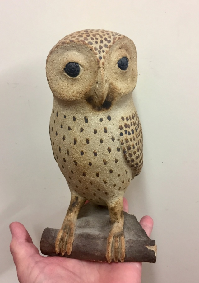 Mystery owl, signed and dated  30920e10