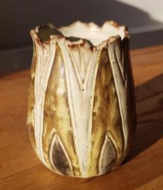 studio pottery figurine mark 49f5be10