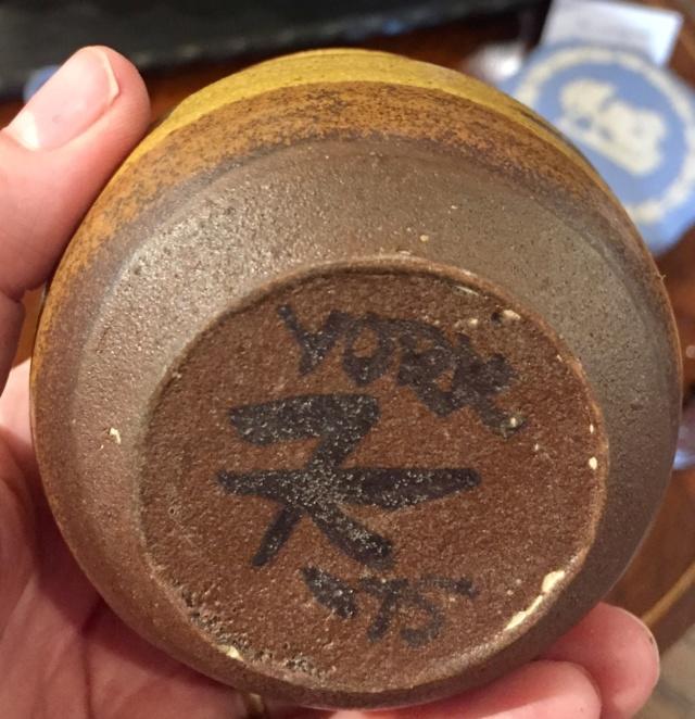 Mystery Pots signed York - probably not Barbara Cass 4d1e8810