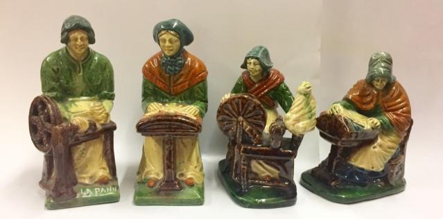 Four Belgium craft figures  582b9710