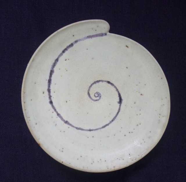 PAUL CARTLEDGE, OZ STREET POTTERY - snail mark  5e1a0d10