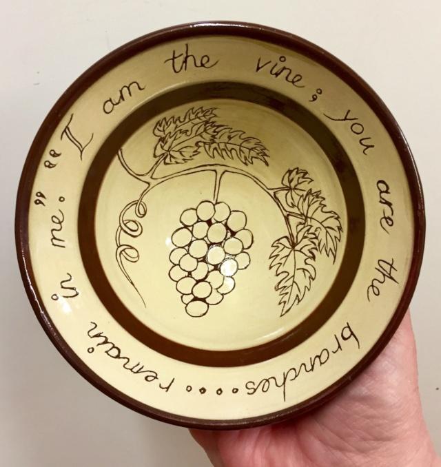 Mottoware bowl, KW mark - Kate Weaver? 60729310