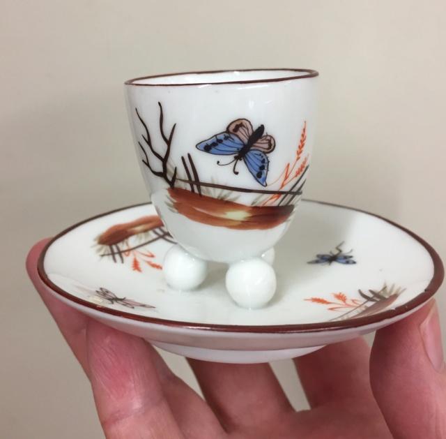 Continental Porcelain eggcup 6efb0810