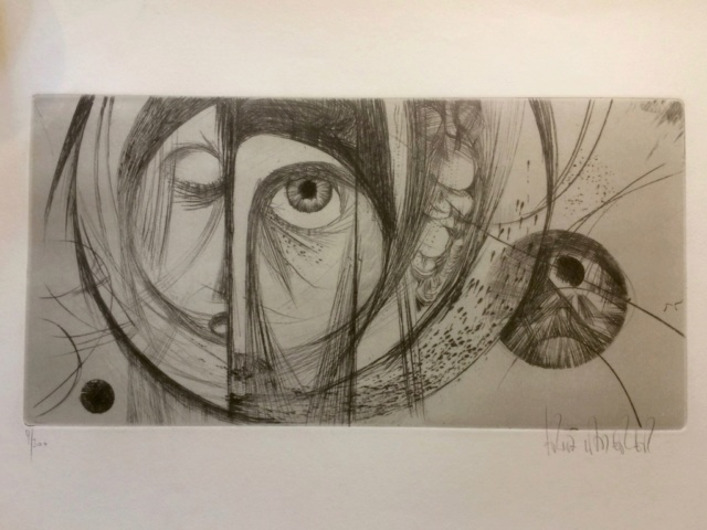 Abstract Etching by Fritz Laderer 6fce5410