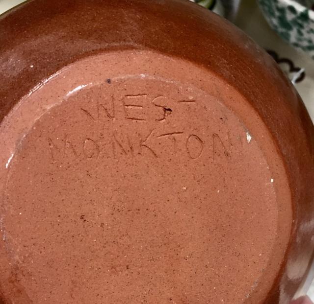 West Monkton Pottery , Somerset  7680b010