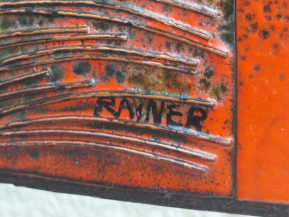 My guess was Scandinavian ..but signed RAINER 7e968010