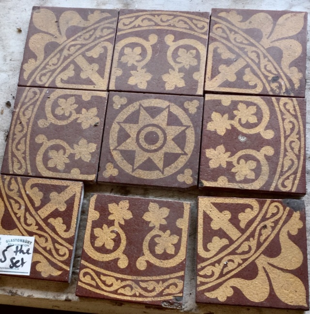 Set of encaustic tiles  97219d10