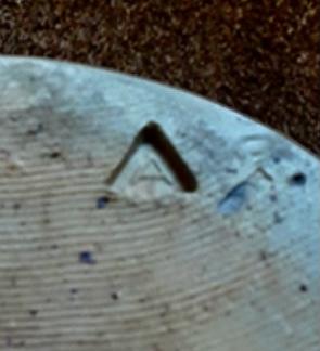 Studio vase - marked A in a triangle  A88f1e10