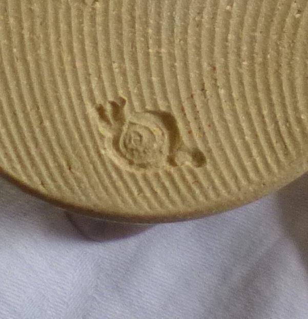 Jug with snail mark - Jacqui Ramrayka? - probably Oz Street Pottery  Aad93410