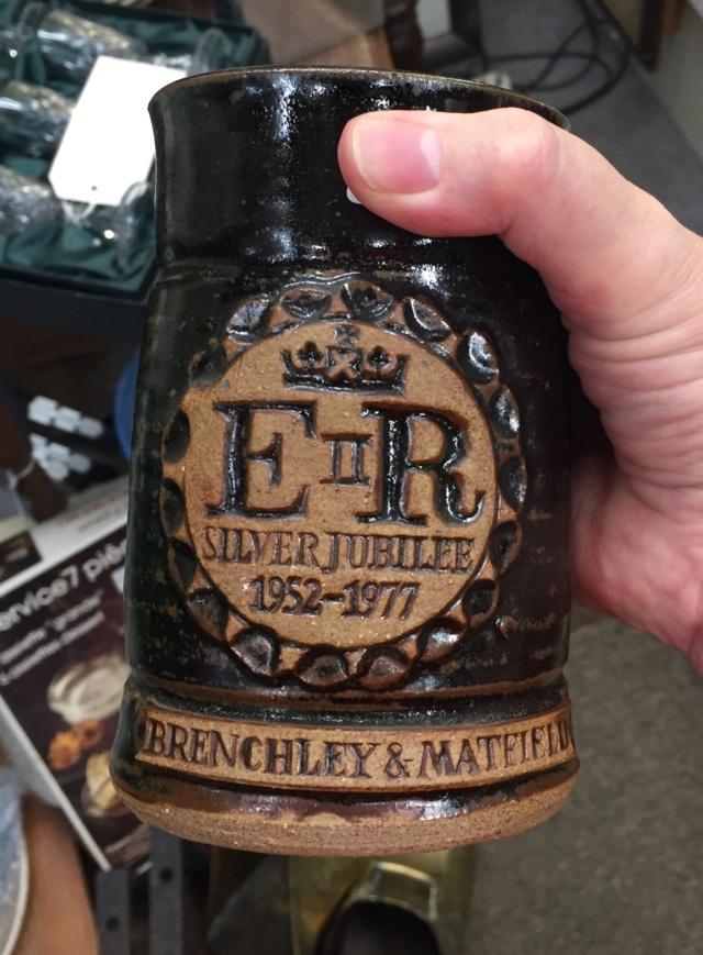 Queen Elizabeth beaker Brenchley & Matfield Kent - GC mark  B7cfbb10