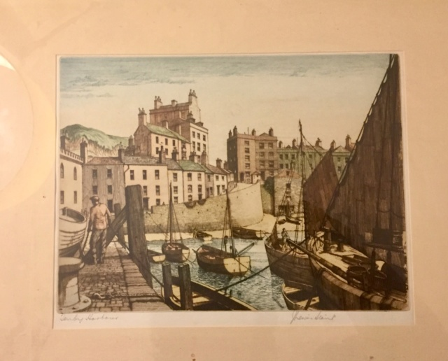 J. Lewis Stant , 2 Artist Proof Etchings Bda7bf10