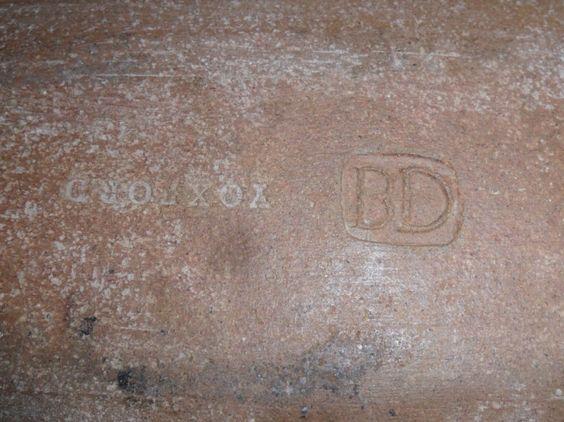 Large Studio Pottery Lamp Base BD mark - Beryl Debney?  Beryl_10