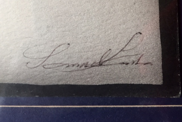 Can anyone read the signature? C0b4b810