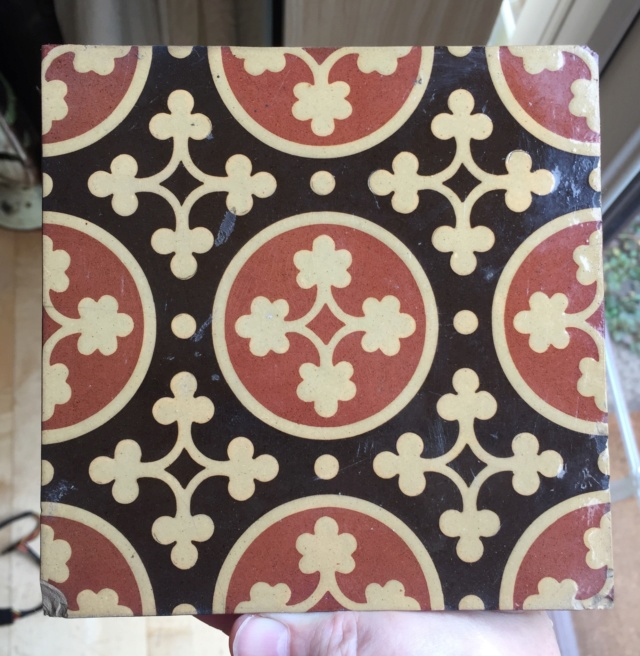 Tiles: MAW & Co, Broseley, Jackfield, Salop (Shropshire). C7c05510