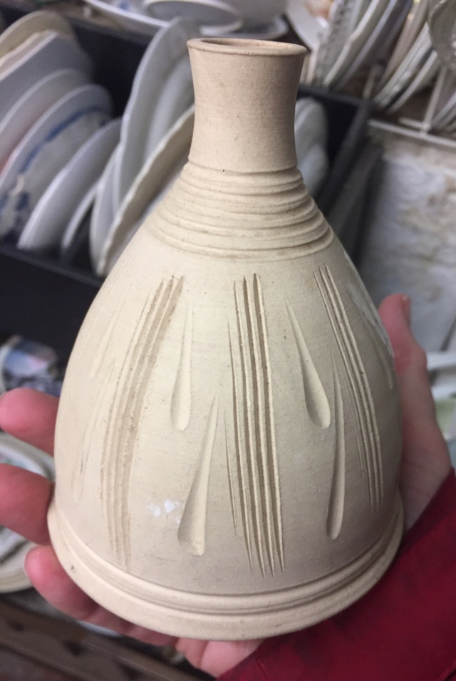Bud Vase with Mystery JP mark  C96e2a10