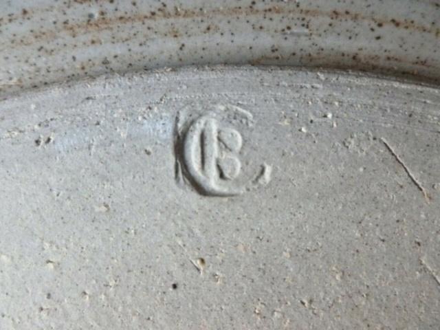 Beautiful Salt glazed Cup with impressed IB mark?  Cbourn10