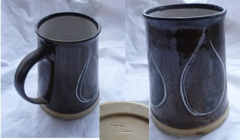 Charming large mug impressed GL mark - Gus Leazell Charmi10