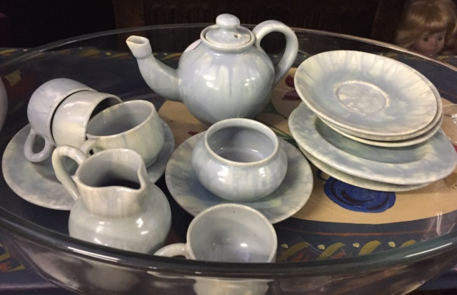Children's tea set unmarked D8da9910