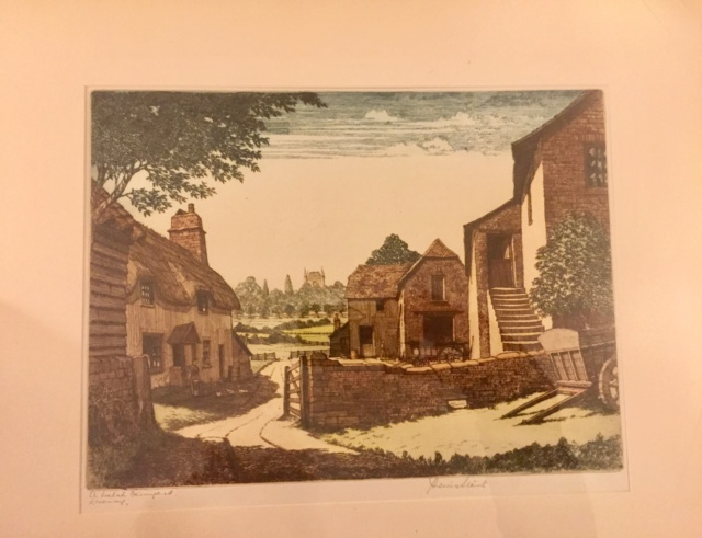 J. Lewis Stant , 2 Artist Proof Etchings Df338d10