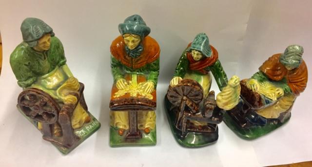 Four Belgium craft figures  E64dc710