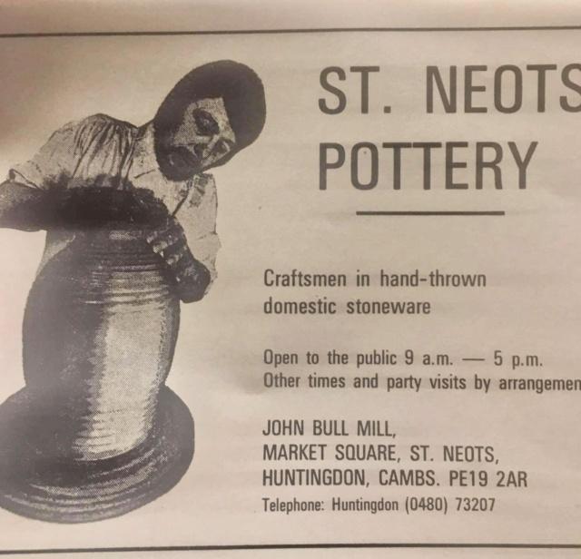 Tony Clarke or Clark, St Neots Pottery, Cambs (Not St Neot, Cornwall)  E6954710