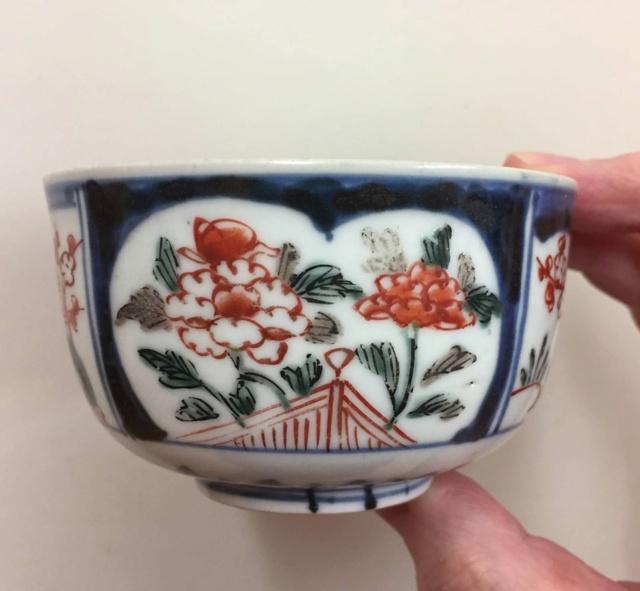 Japanese mukozuke bowl, late Edo period   Edo510