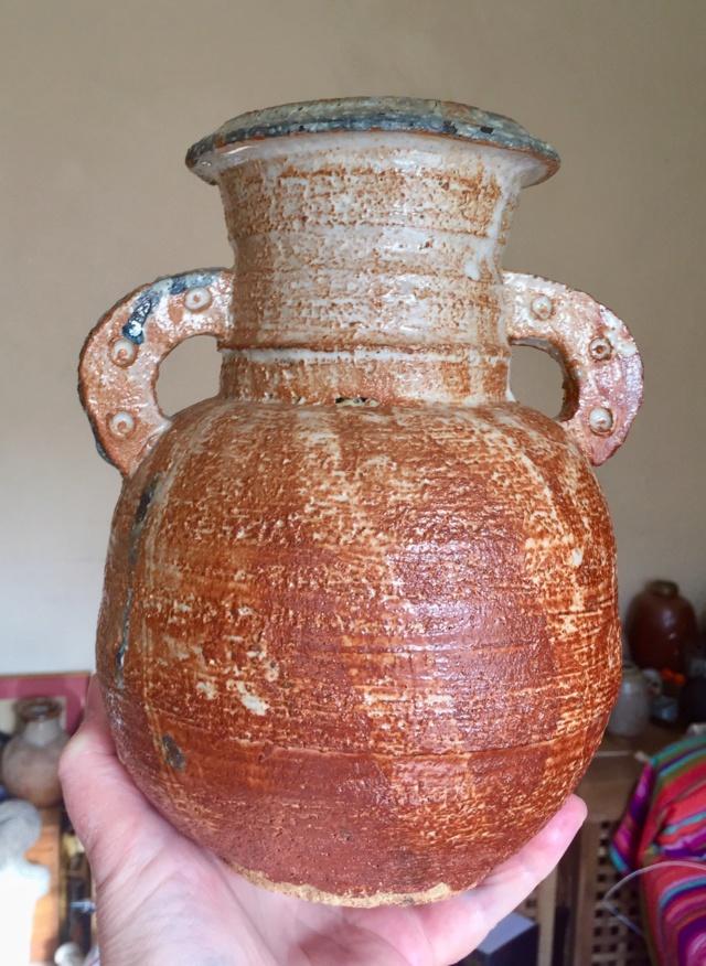 Shino glazed vase Ee238d10
