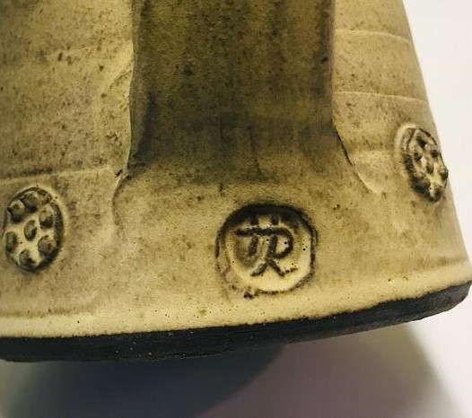 John Hedges, Newbury Pottery - HR or HJR mark Jhedge10