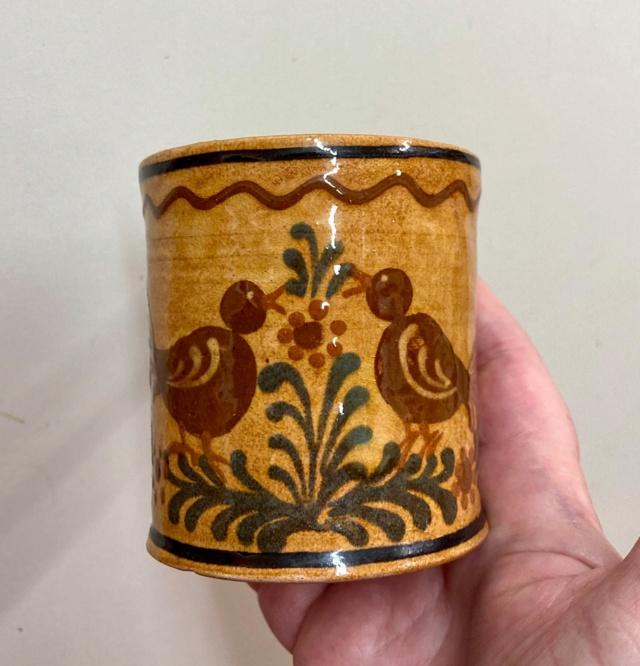 Slipware mug - French Savoie?  Mug510
