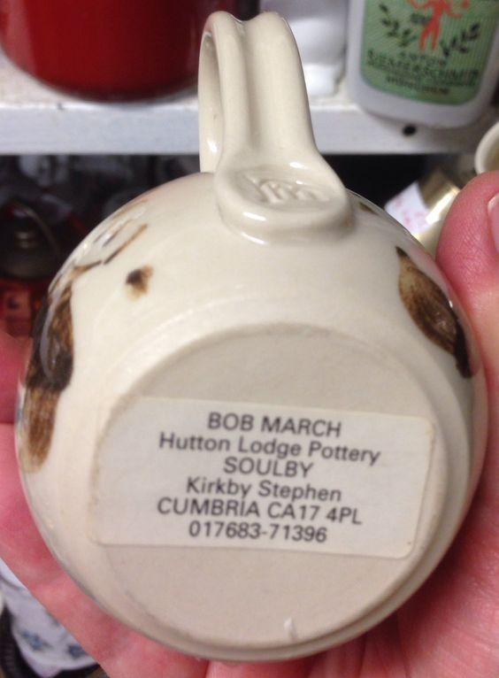 Robert (Bob) March, Hutton Lodge Pottery, Cumbria  Rmarch11